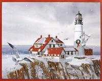 Winter Lighthouse Fine-Art Print