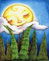 Sleep Sweet Forest Moon Fine-Art Print