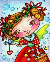 Holly and Snow Fine-Art Print
