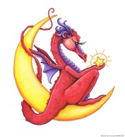 StarShine (Red Dragon) Fine-Art Print