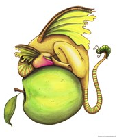 Golden Delicious-Dragon Fine-Art Print