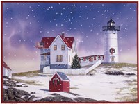Winter Lighthouse 2 Fine-Art Print