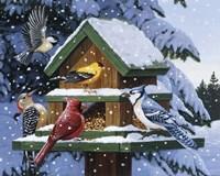 Winter Feast Fine-Art Print