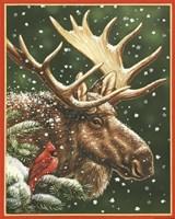 Winter Moose Fine-Art Print