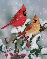 Winter Companions Fine-Art Print