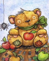 Autumn Teddy Fine-Art Print