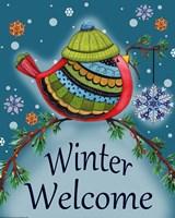 Winter Welcome Bird Fine-Art Print
