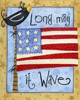 Long May it Wave Fine-Art Print