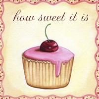 Cherry Cupcake Fine-Art Print