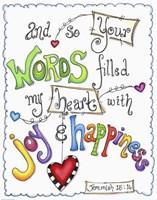 Words of Joy - Joyful Words Fine-Art Print