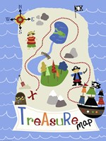 Treasure Map Fine-Art Print