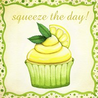 Lemon Cupcake Fine-Art Print