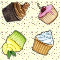 Cupcake Toss Fine-Art Print