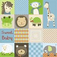 Baby Boy Animal Quilt Fine-Art Print
