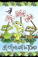 Frog Parking Fine-Art Print