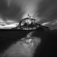 St Michel Reflection Fine-Art Print