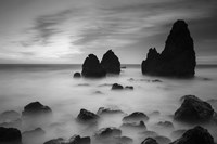 Rodeo Beach II, Black and White Fine-Art Print