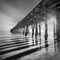 Pier and Shadows Fine-Art Print