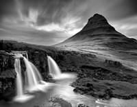 3 Waterfalls BW Fine-Art Print