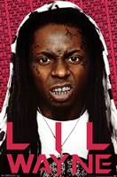 Lil Wayne - Snarl Wall Poster