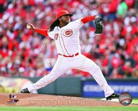 Johnny Cueto Baseball Pitching Fine-Art Print
