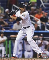 Giancarlo Stanton 2014 Action Fine-Art Print