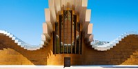 Bodegas Ysios winery building, La Rioja, Spain Fine-Art Print
