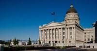 Facade of Utah State Capitol Building, Salt Lake City, Utah Fine-Art Print
