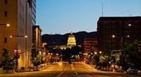 Utah State Capitol Building at Night, Salt Lake City, Utah Fine-Art Print