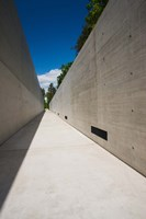 Courtyard to Bergen-Belsen WW2 Concentration Camp Memorial, Lower Saxony, Germany Fine-Art Print