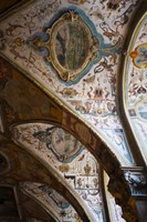 Vaulted ceiling of the Antiquarium, Residenz, Munich, Bavaria, Germany Fine-Art Print