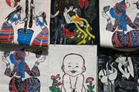 Fabric Items, Dali, Yunnan Province, China Fine-Art Print