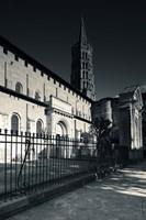 Entrance of the Basilica of St. Sernin, Toulouse, Haute-Garonne, Midi-Pyrenees, France Fine-Art Print