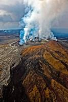 Steaming Volcano, Kilauea, Kauai, Hawaii Fine-Art Print
