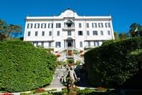 Low angle view of a villa, Villa Carlotta, Tremezzo, Lake Como, Lombardy, Italy Fine-Art Print