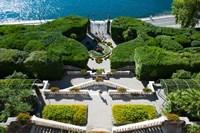 Entrance of a villa, Villa Carlotta, Tremezzo, Lake Como, Lombardy, Italy Fine-Art Print