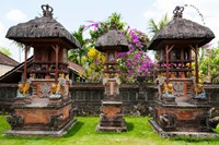 Offering altars, Rejasa, Penebel, Bali, Indonesia Fine-Art Print