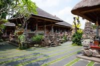 Inner grounds of the 1950's Pura Taman Saraswati temple, Ubud, Bali, Indonesia Fine-Art Print