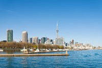 City skyline at the waterfront, Toronto, Ontario, Canada 2013 Fine-Art Print
