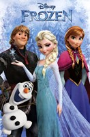 Frozen - Group Wall Poster