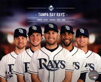Tampa Bay Rays 2014 Team Composite Fine-Art Print