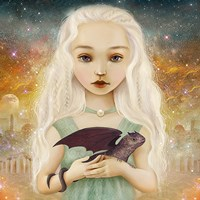 The Dragon Princess Fine-Art Print