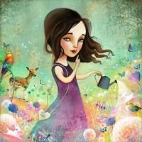 Her Secret Garden Grows Fine-Art Print