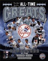 New York Yankees All Time Greats Composite Fine-Art Print