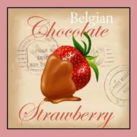 Belgian Chocolate Strawberry Fine-Art Print