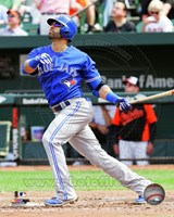 Jose Bautista 2014 Action Fine-Art Print