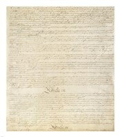 Constitution of the United States I III Fine-Art Print
