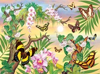 Butterflies Up IN The Canopy Fine-Art Print