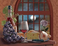 Chianti By Moonlight Fine-Art Print