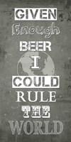 Given Enough Beer Fine-Art Print